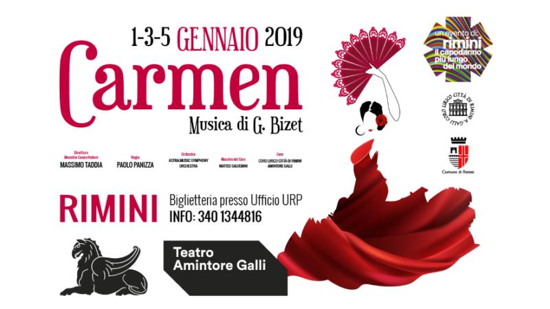 Rimini, il Teatro Galli e la Carmen