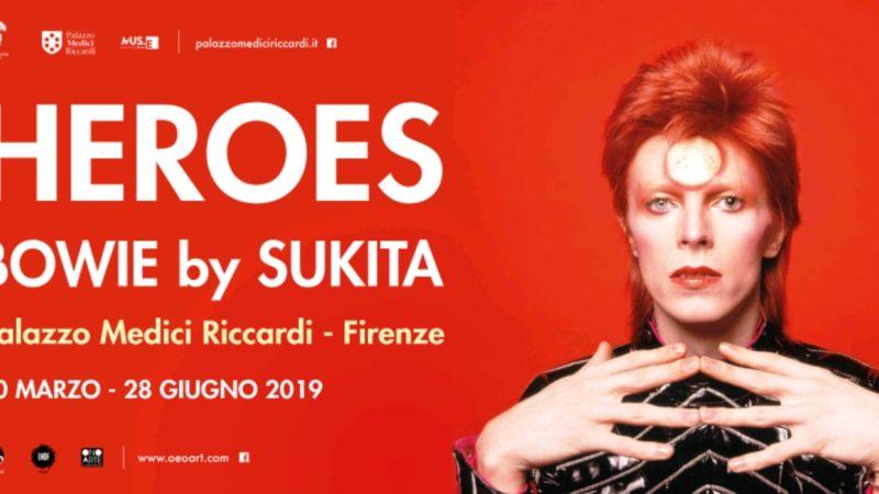 Heroes – Bowie by Sukita •Un uomo dai mille volti•