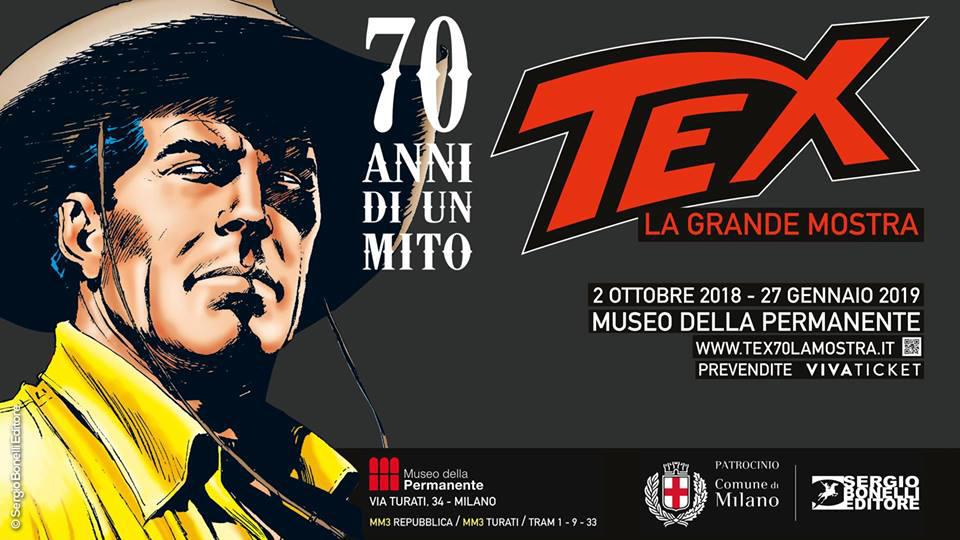 A cavallo con Tex… Alla Permanente di Milano