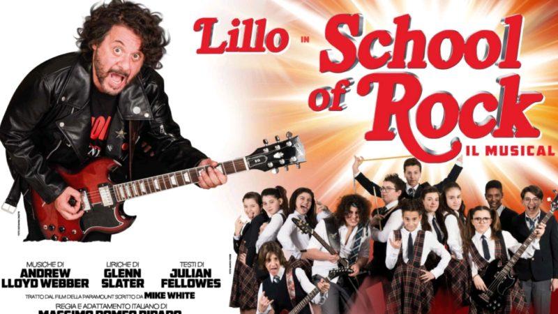 Il musical e l'Italia: School of Rock