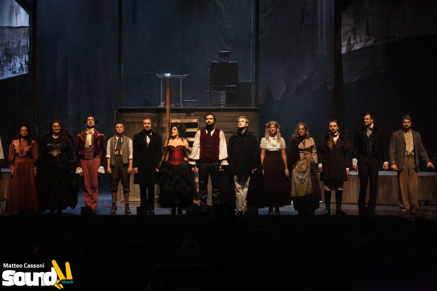 Sweeney Todd – Teatro Olimpico – 5 Novembre 2019