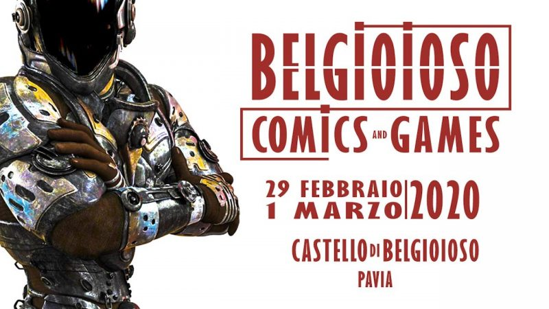 Belgioioso Comics and Games – Prima Edizione