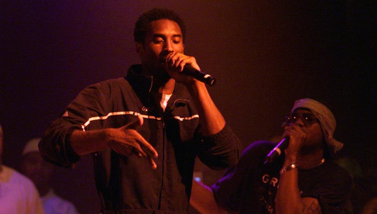 Kobe Bryant e il sogno di fare il rapper