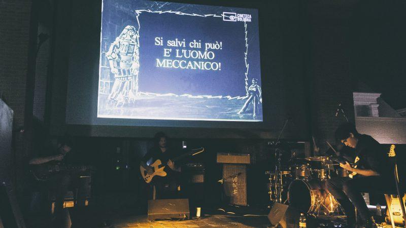 """Intervista agli Earthset: come sonorizziamo live il film muto """"L'Uomo Meccanico"""""""