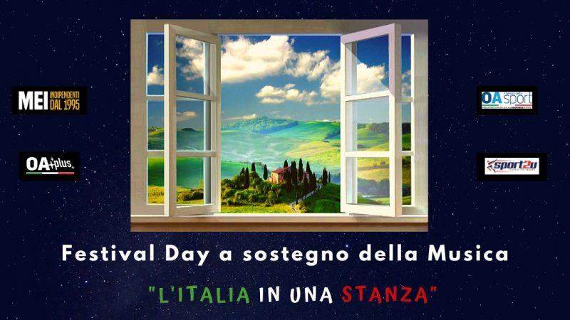 Il Festival Day a sostegno della musica e degli operatori del settore