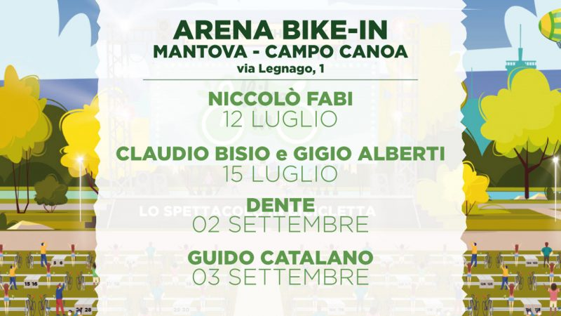 Bike-In: a Mantova un'estate di eventi dal vivo