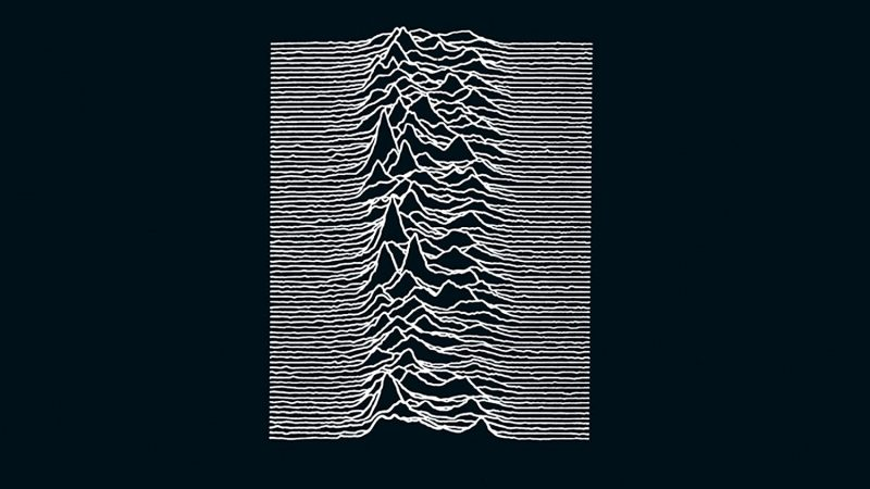 Unknown Pleasures dei Joy Division: la copertina mitica di un disco tragico