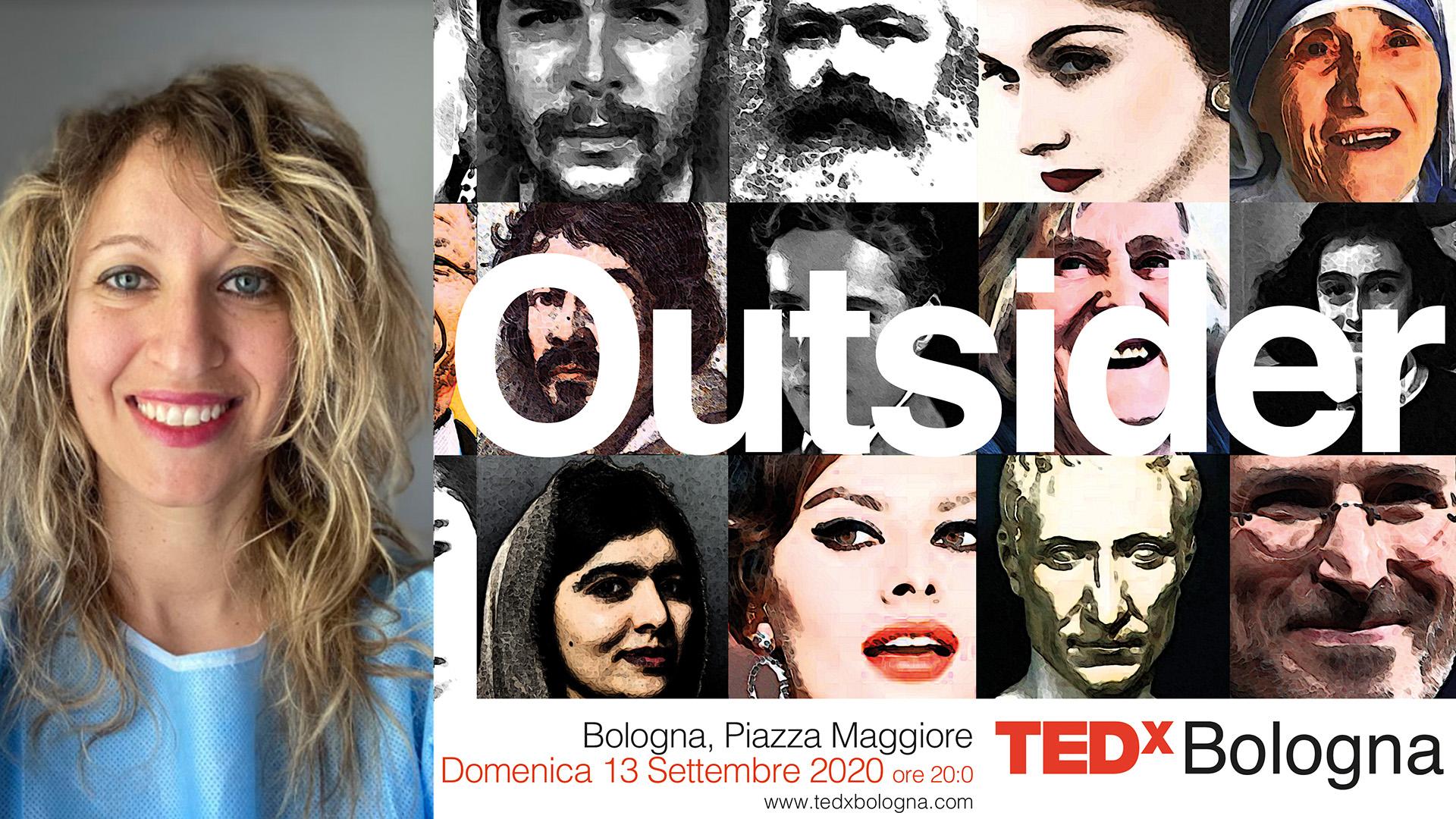 """Annalisa Malara, da Codogno al TEDx di Bologna: pensare da """"outsider"""" può salvare una vita (e non solo)"""