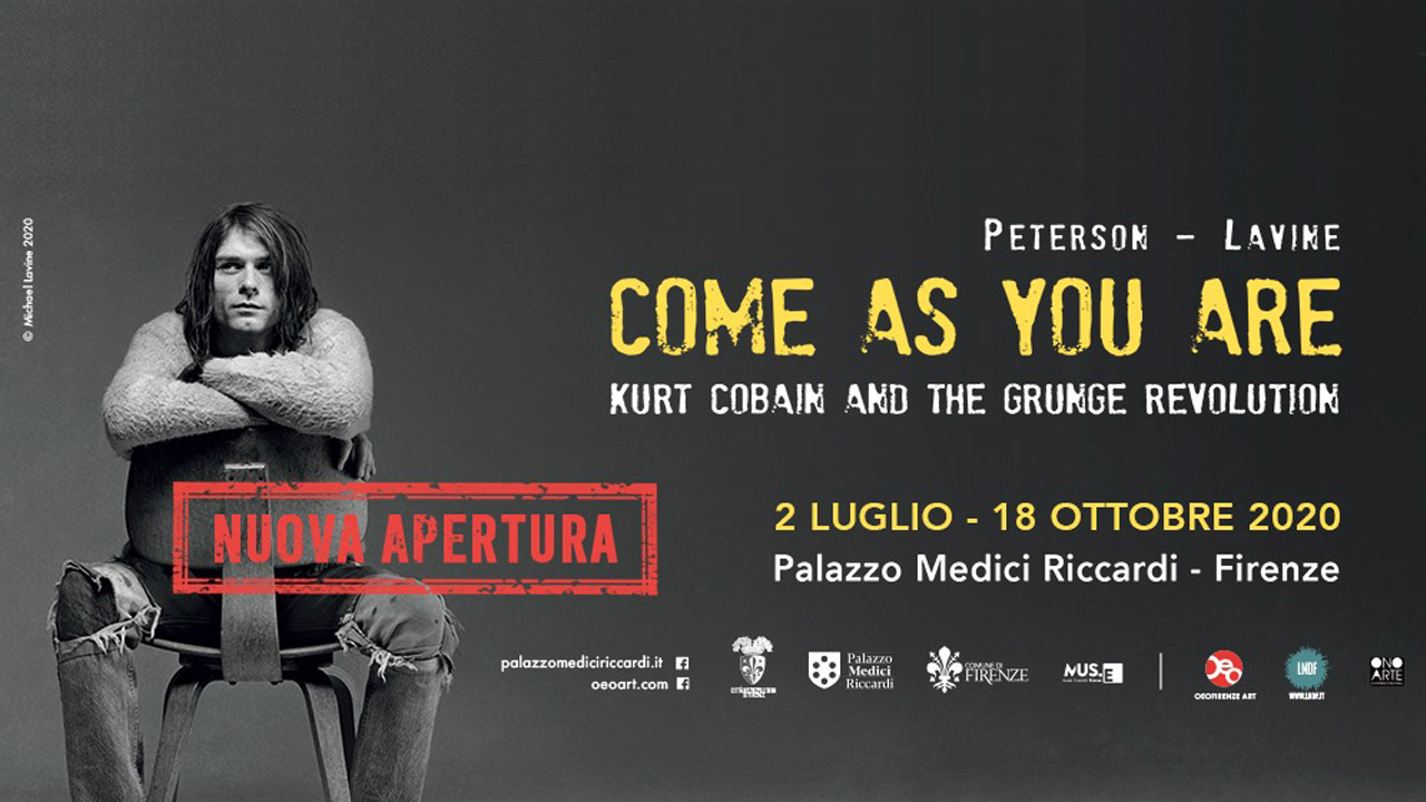 A Firenze la mostra fotografica Come As You Are: Kurt Cobain And The Grunge Revolution