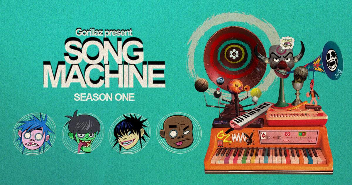 Gorillaz: cosa (non) è Song Machine?