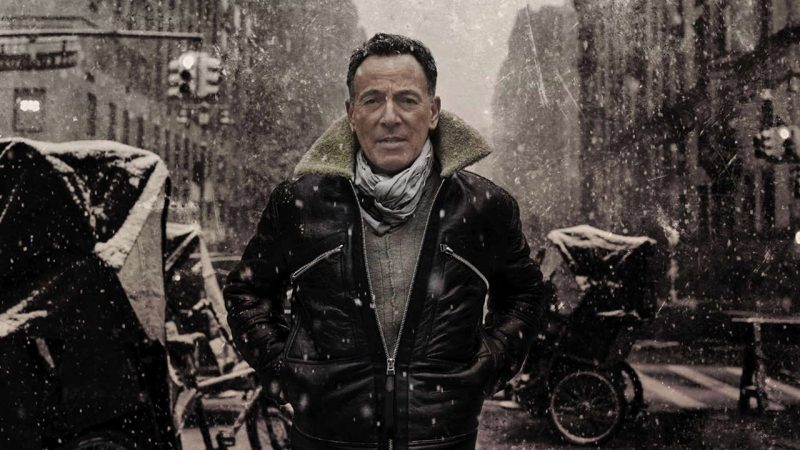 Bruce Springsteen Letter To You sotto la neve