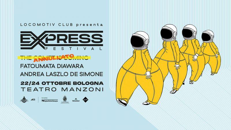 express festival bologna locandina