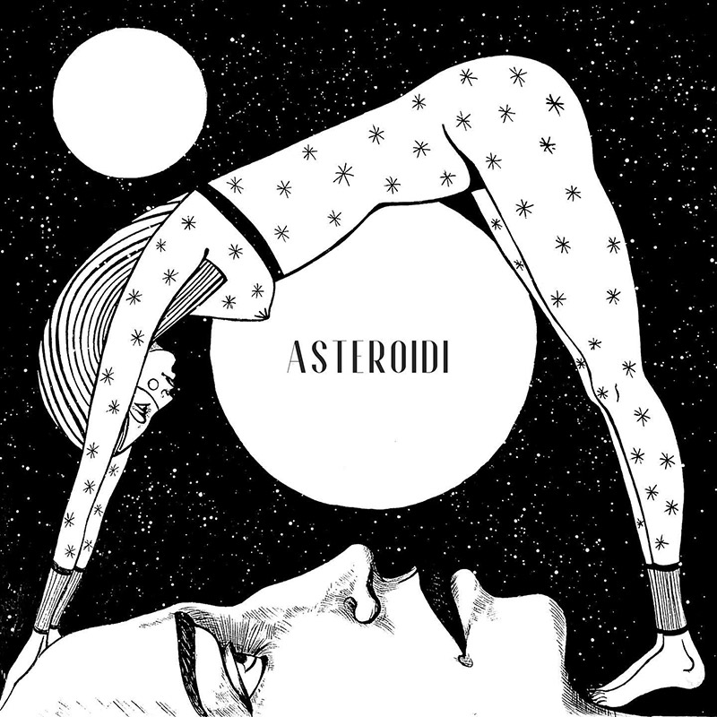 Copertina di Asteroidi di Leo Caleo