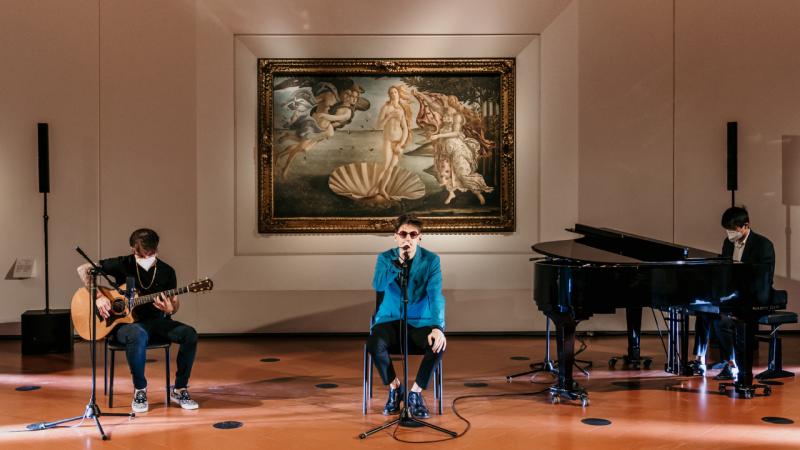 """""""Sindrome di Stendhal"""" di Emanuele Aloia: arte in musica"""