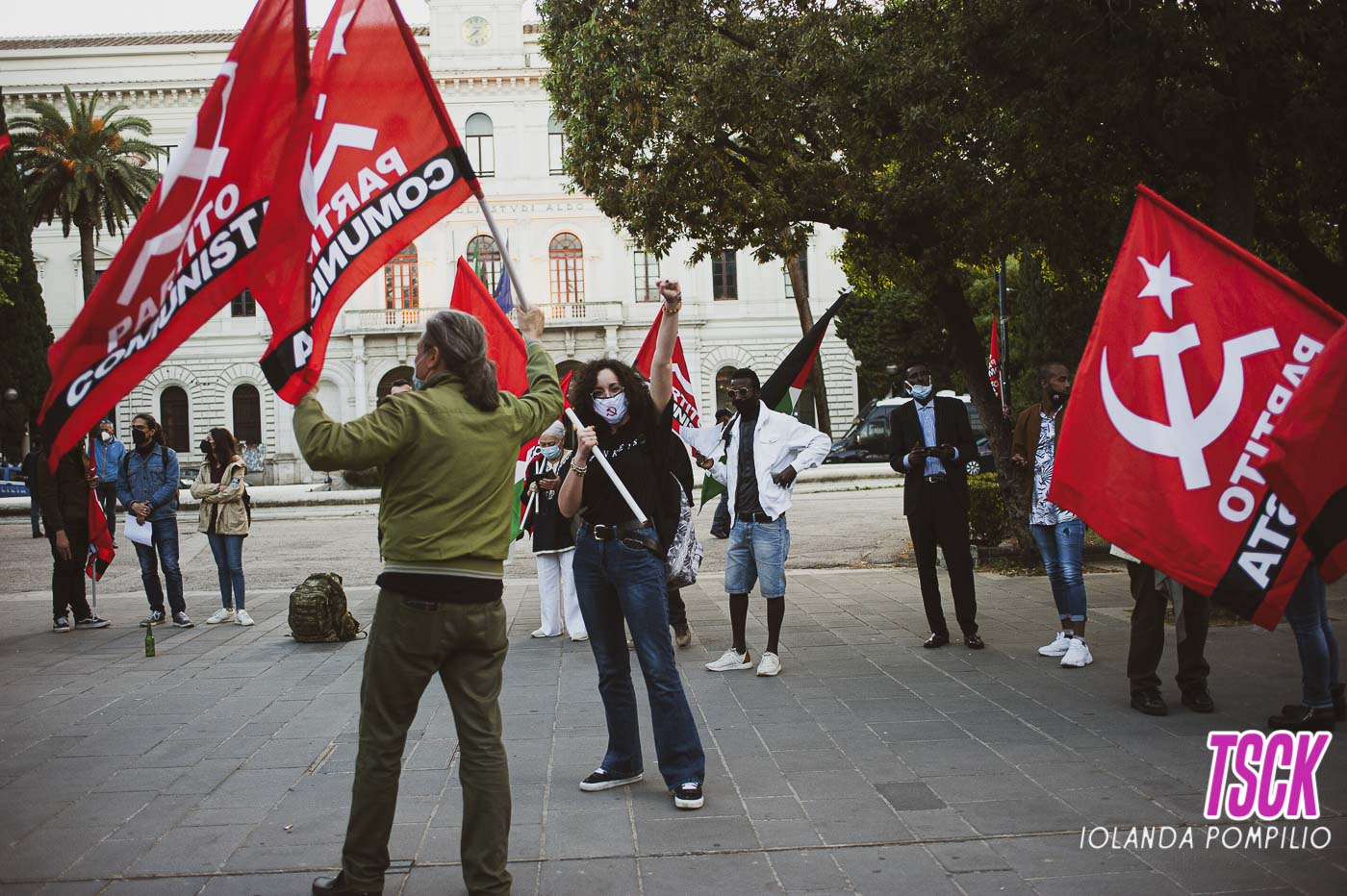 Manifestando per la Palestina