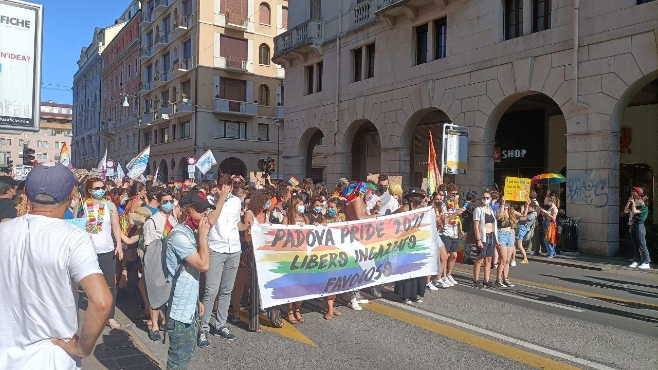 La Pride Parata a Padova – 10 Luglio