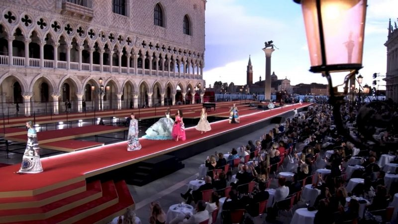 La sfilata-omaggio Dolce & Gabbana a Venezia