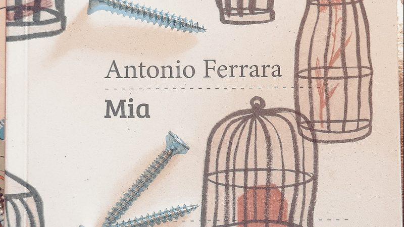 """Antonio Ferrara: l'educazione sentimentale di """"Mia"""", edito Settenove"""